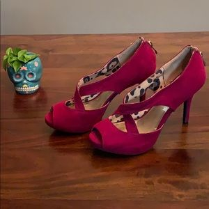 Christian Siriano Hot Pink Heels!